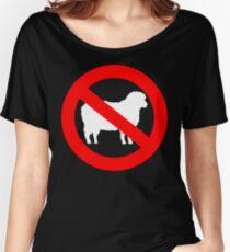 .No Sheep! No Sheeple! Wake up sheeple! Women's Relaxed Fit T-Shirt