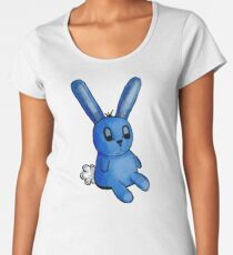 Stuffed Blue Bunny Women's Premium T-Shirt