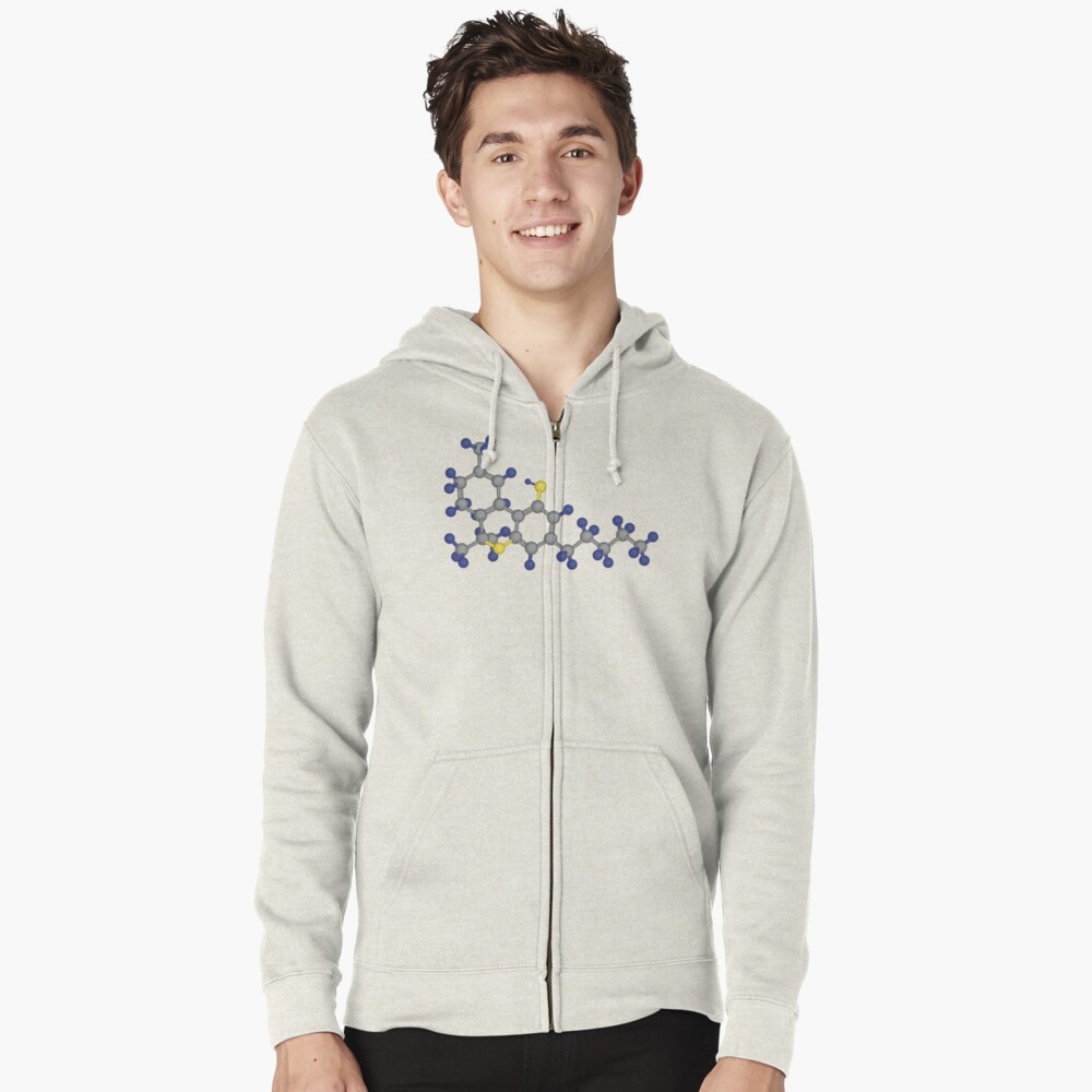 THC - 3D Zipped Hoodie Front