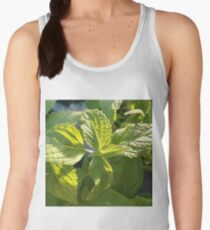 Green Flower Women's Tank Top