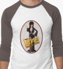 Elvira Portrait Men's Baseball ¾ T-Shirt
