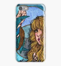 Turquoise Moon iPhone Case/Skin