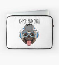 K-Pop And Chill Kawaii Dog Laptop Sleeve