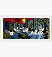 Iguana Falls Design, Brazil Sticker