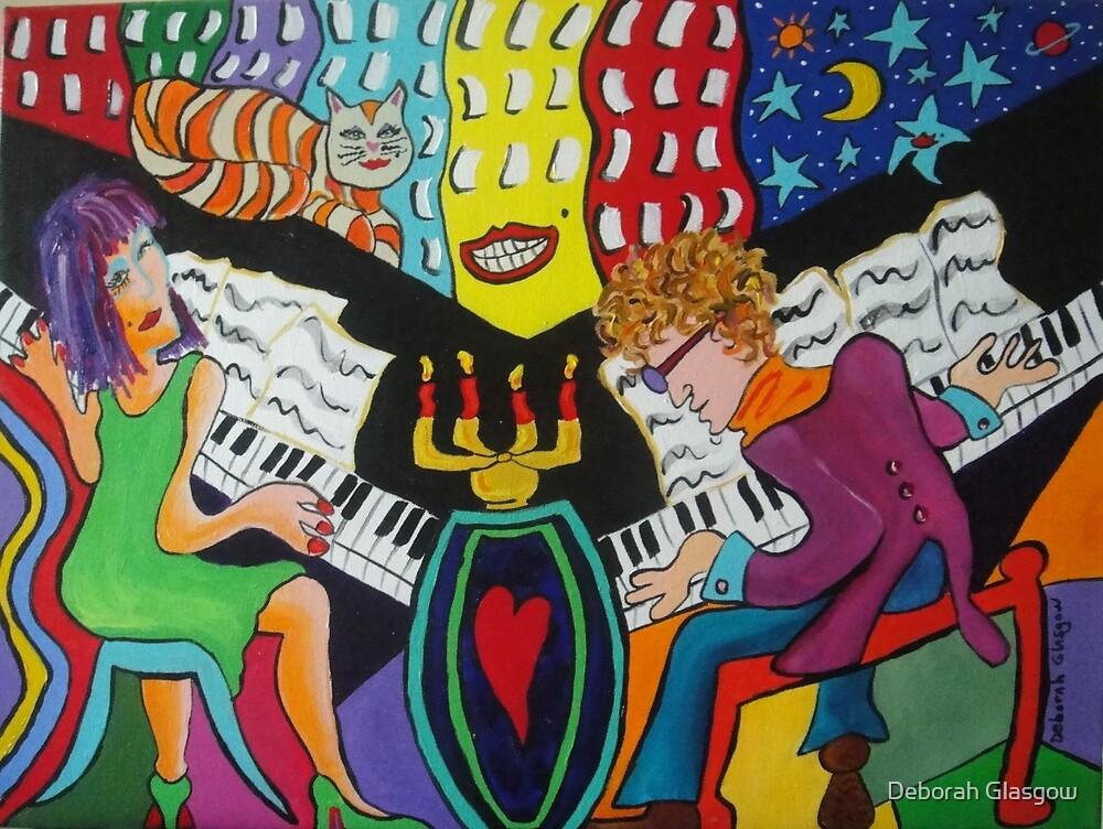 Dual Pianos SOLD by Deborah Glasgow
