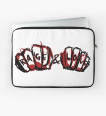 Rage and Love Laptop Sleeve
