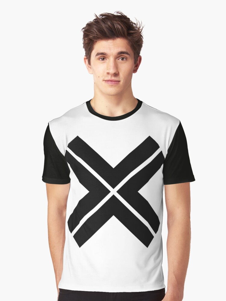 X cross_1 Graphic T-Shirt Front