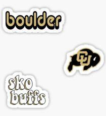 Colorado Boulder Minis Sticker