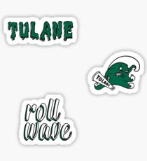 Tulane University Minis Sticker