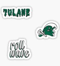 Tulane University Minis Sticker