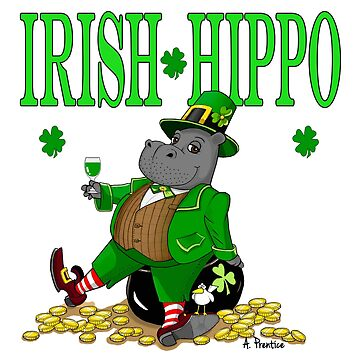 Hippo St Patrick's Day by Hippogal