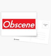 Obscene Postcards