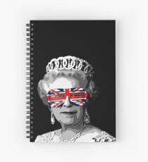 Queen Elizabeth II Spiral Notebook