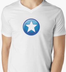 Hero halftone Men's V-Neck T-Shirt
