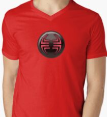 Villain halftone 2 Men's V-Neck T-Shirt