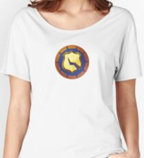 Vigilante halftone Women's Relaxed Fit T-Shirt