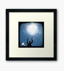 Solar Framed Print