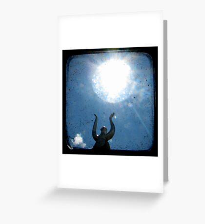 Solar Greeting Card
