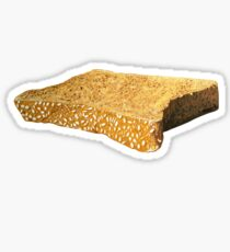 A Slice of Wholemeal Sticker