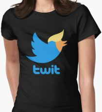 Twitter in Chief Women's Fitted T-Shirt