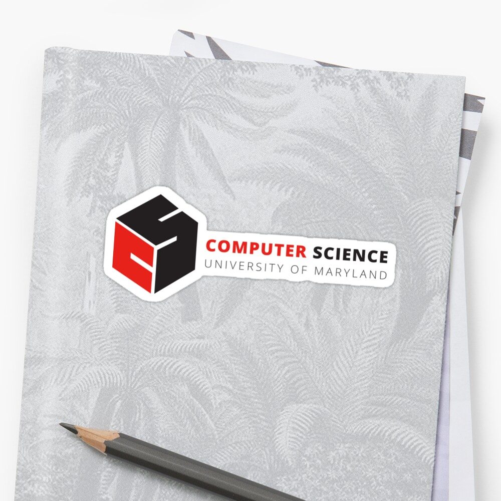 Umd Computer Science Logo Stickers Shirts Phone Cases Sticker By