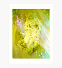 An Angel's Song by Marie Sharp and Sally Omar Art Print