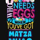 Easter Eggs and Matza Balls by oddduckshirts