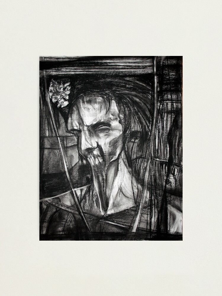 Alternate view of self portrait as sung by Dulli Photographic Print