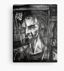 self portrait as sung by Dulli Metal Print