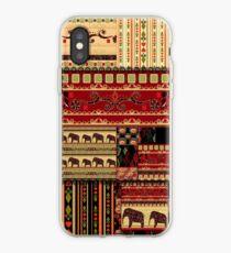 Afrikanischer Print mit Elefanten iPhone-Hülle & Cover