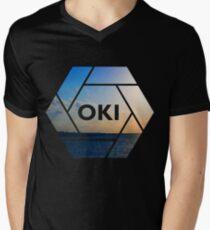 Okinawa Graphic Men's V-Neck T-Shirt