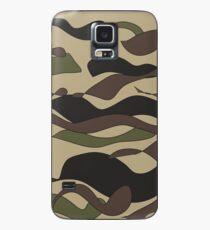 Cammy Camouflage Print Case/Skin for Samsung Galaxy