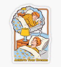 Achieve Your Dreams Transparent Sticker