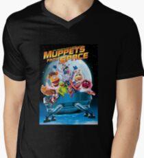 Muppets space Men's V-Neck T-Shirt