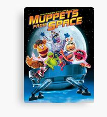 Muppets space Canvas Print
