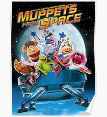Muppets space Poster