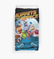 Muppets space Duvet Cover