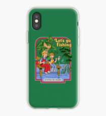 Let's Go Fishing iPhone Case