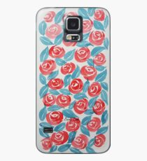 Rosy reds Case/Skin for Samsung Galaxy