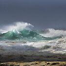 Winter Storm _ Stradbroke Island by Barbara Burkhardt