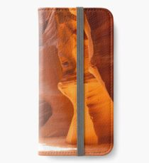 ANTELOPE CANYON Unique Lightbeam iPhone Wallet/Case/Skin