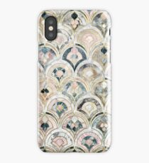 Art Deco Marble Tiles in Soft Pastels iPhone Case/Skin