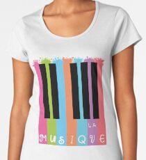 LA Musique Premium Scoop T-Shirt