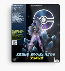 Pokemon World Tournamet Guest- Karen Poster Metal Print