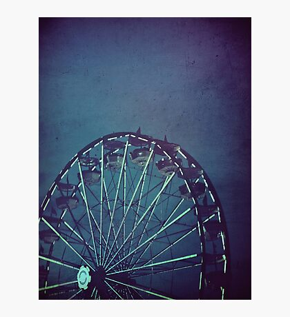The Wheel, at Dusk Photographic Print