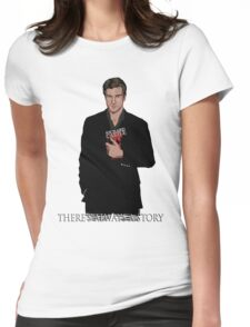 Richard Castle Womens Fitted T-Shirt