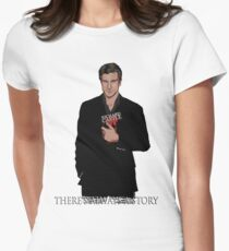 Richard Castle Women's Fitted T-Shirt