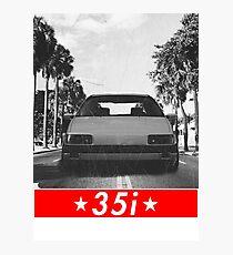 Passat B3 35i & quot; Redstriped & quot; Photographic Print