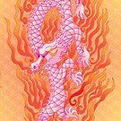 Fire dragon by Jacqueline Gwynne