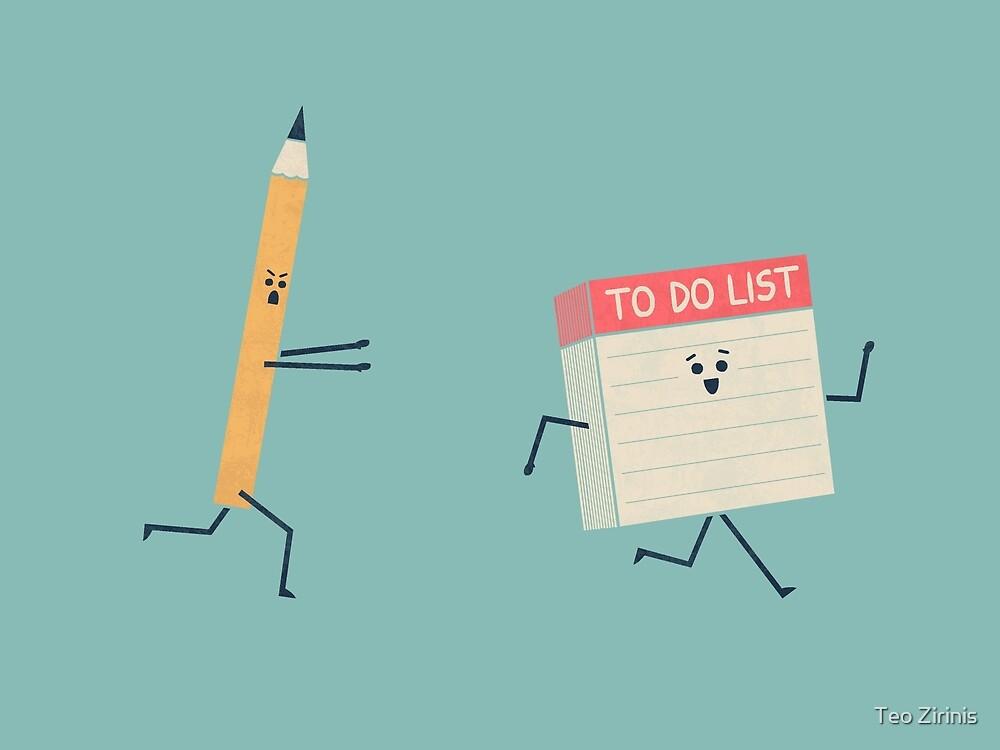 To Do List by Teo Zirinis